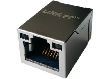 Плата-Вверх с СИД, Маунта 1x Rj45 поверхности LPJ19201BGNL локальная сеть 10/100Base-T
