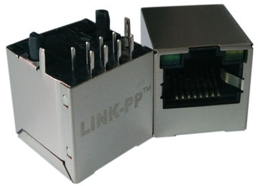 LPJD4012BENL, вертикальное RJ45 Jack, 1CT: 1CT, 8P8C 10/100Mbps, СИД G-Y экрана